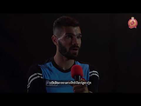 ចំណាប់អារម្មណ៍របស់ខ្សែប្រយុទ្ធថ្មី  Phnom Penh Crown FC - Pouya Hosseini