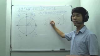 08 ตรีโกณมิติ - วงกลมหนึ่งหน่วย (ส่วนที่ 2 การหาพิกัดของมุมต่างๆ)