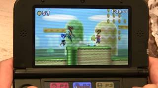 [SSB4] Another small update I've noticed in more recent demos, Greninja actually says his name