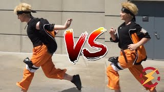 Video Does The Naruto Run Make You Faster?? (Tested With Cosplayers, Surprising Result!!!) MP3, 3GP, MP4, WEBM, AVI, FLV November 2017
