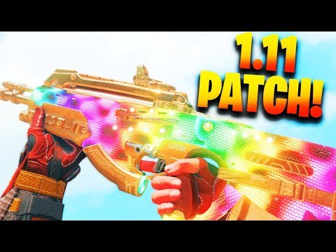 NEW 1.11 UPDATE PATCH NOTES! Everything That Changed In The Black Ops 4 1.11 Update!
