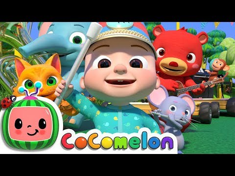 Musical Instruments Song (Animal Band) | ABCkidTV Nursery Rhymes & Kids Songs