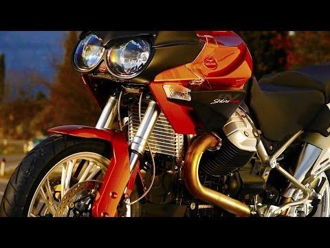 Moto Guzzi Stelvio 1200 8V and NTX full review (видео)