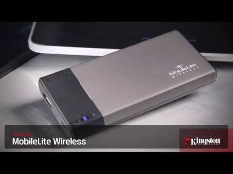 Video of Kingston MobileLite