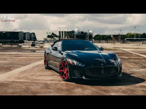 MC Customs | Maserati GranTurismo Convertible · Vellano Wheels