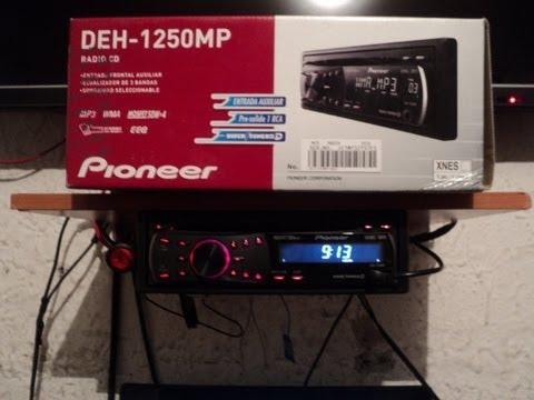 radio de auto en casa pioneer