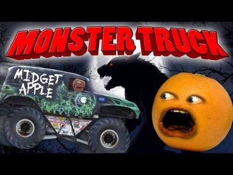 Annoying Orange - Monster Truck (Parody)