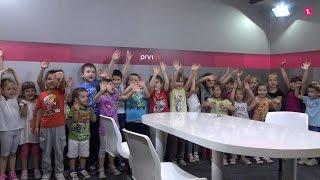 Prvi.tv ugostio djecu iz vrtića Kuća od kamena