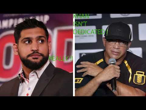 "Breaking News: Amir Khan Blasted By Trainer Virgil Hunter !! ""no Loyalty To The Sport ! Says Hunter"