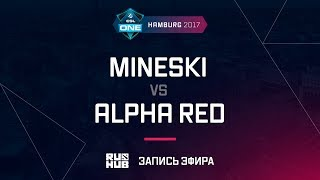 Mineski vs Alpha Red, ESL One Hamburg 2017, game 1 [Adekvat]