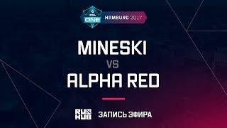Mineski vs Alpha Red, ESL One Hamburg 2017, game 1 [Adekvat]