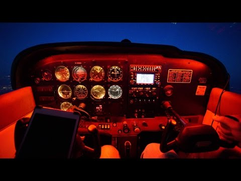 Cessna 172   Texas to California   Bermuda Dunes Landing