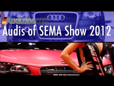 Audis of SEMA Show 2012 by Audizine
