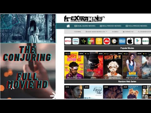 how to download the conjuring horror movie?