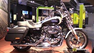 9. 2015 Harley-Davidson Sportster Superlow 1200T - Walkaround - 2014 EICMA Milan Motorcycle Exhibition