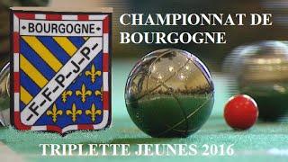 Appoigny France  City new picture : # CHAMPIONNAT DE BOURGOGNE TRIPLETTE JEUNES 2016 APPOIGNY (89) # / # MR.KAIIRA #