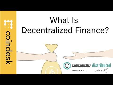 What is Decentralized Finance? Learn At Consensus: Distributed, Unlocked video