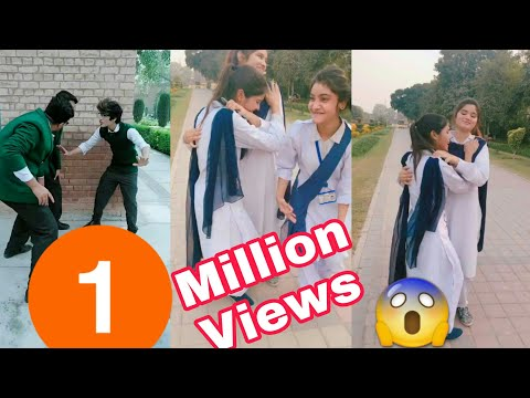 Inside Punjab College Students Girls Boys TikTok Musically Video Part 6 | Lahore College Girls Boys
