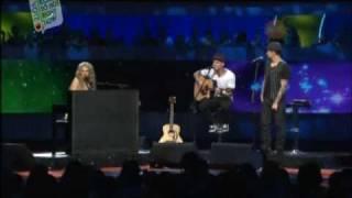 In This Life / Dance Floor Anthem (Medley) - Delta Goodrem & Good Charlotte Kids' Choice Award 09