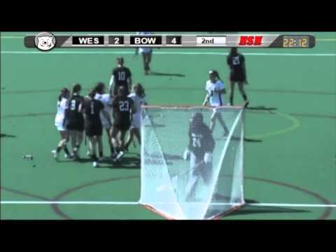 Women's Lacrosse vs. Wesleyan (4/12/14)