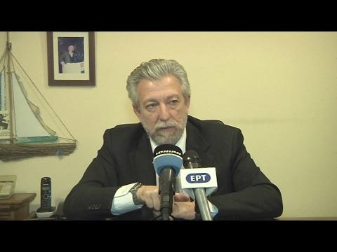 Στη  Ζάκυνθο, ο υπουργός Δικαιοσύνης, Σταύρος Κοντονής
