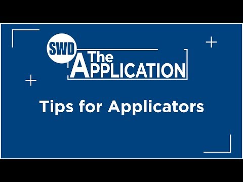 The Application: Interview w/John Thompson Part 1 (Tips for Applicators)