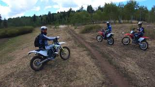8. Payson Canyon Single Track Husqvarna 450 FX