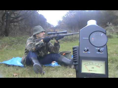 AIR GUN 22lr RIMFIRE HMR RIFLE SILENCER SUPPRESSOR DESIGNS HOGAN DECIMEATER Pt1 22lr.