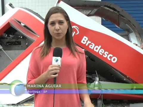 TV Costa Norte - Mais um Caixa Eletrônico foi explodido em Bertioga