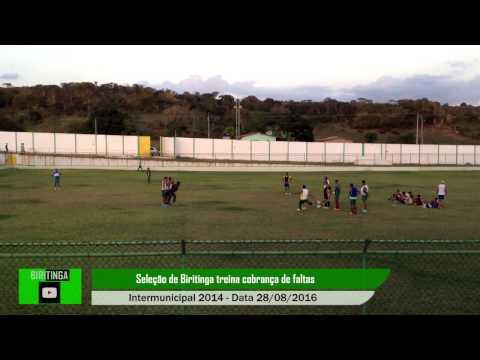 Treino de Falta da seleção de Biritinga Intermunicipal 2014