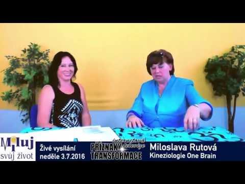 Miloslava Rutová politika a kineziologie One Brain