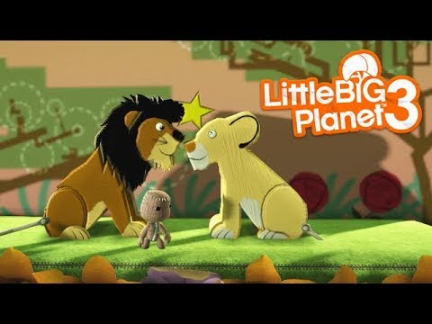 LittleBIGPlanet 3 - The Lion King 2: Simba's Pride - Part 1 [NINZA2112] - Playstation 4 Gameplay
