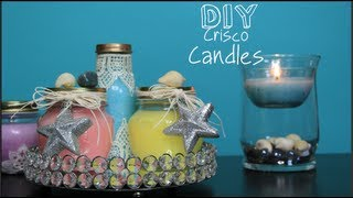 DIY No Wax Candles!? Scented, Color, & Bug It - YouTube