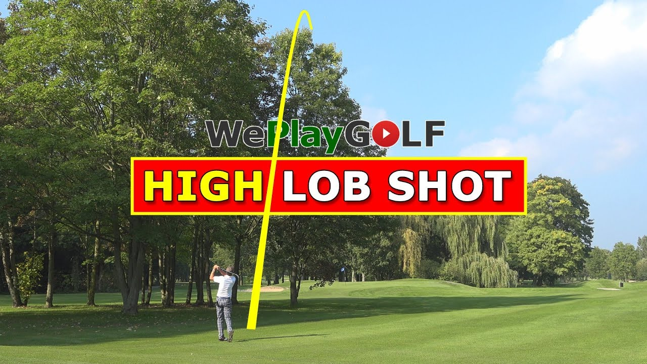 The perfect Lob Shot over a tree - Three important tips!