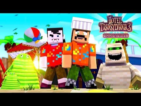 HOTEL TRANSYLVANIA 3: SUMMER VACATION | Minecraft