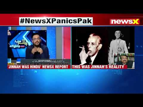 Pak Media plays NewsX prime time debate on Muhammad Ali Jinnah