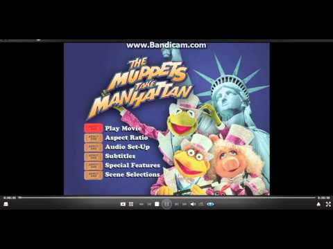 Opening To The Muppets Take Manhatten 2001 DVD