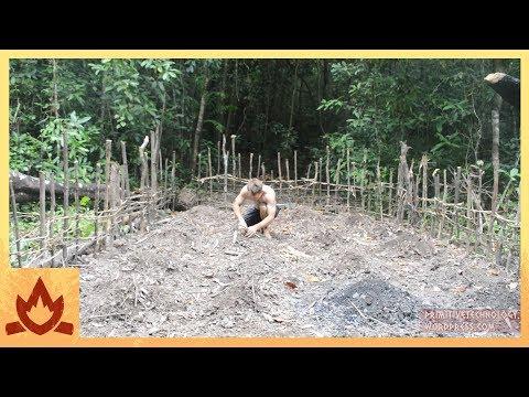Primitive Technology: Planting Cassava and Yams