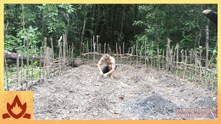 Primitive Technology: Planting Cassava and Yams