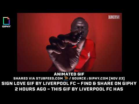 Sign Love GIF By Liverpool FC  Find  Sha...