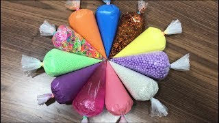 Video How To Make Slime with Pipping Bags! Mixing Random Things Into New Slime ! Boom Slime MP3, 3GP, MP4, WEBM, AVI, FLV September 2018