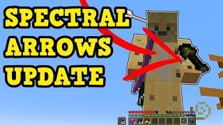 Minecraft Xbox One / PS4 - TU57 SPECTRAL ARROW PREVIEW