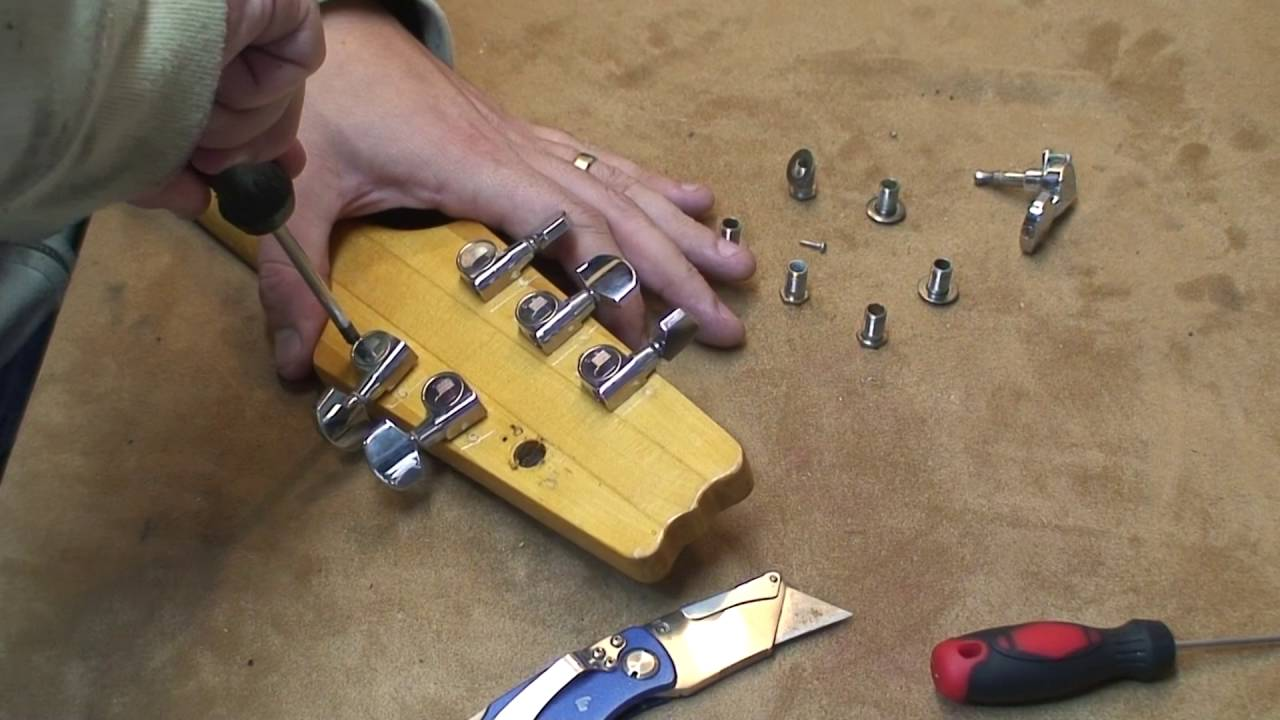 Japanese Electric Guitar Found At A Yard Sale – Major Overhaul: Part 1 – Disassembly