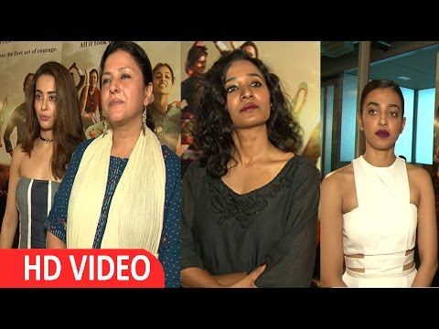 TEAM OF PARCHED | INTRACTION REGARDING THEIR MOVIE | RELIANCE OFFICE