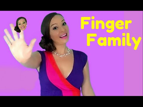 Family - Finger Family is a popular nursery rhyme and finger play song. Children and toddlers will love this fun and musical way to learn and show word meaning throug...