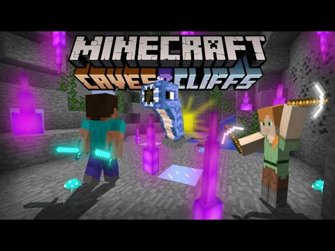 Minecraft PE 1.17 - Trailer Oficial (Caves And Cliffs)