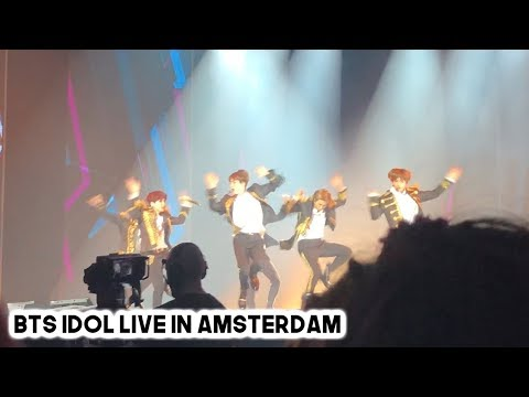 BTS (방탄소년단) 'IDOL' LIVE IN AMSTERDAM