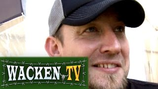 Volbeat - Interview at Wacken Open Air 2009