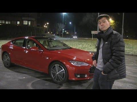 tesla - My very first road trip with my brand new Tesla Model S P85 Multicoat Red. The trip from Oslo to Trondheim is 535 km and has a max elevation of 1026 m. This ...
