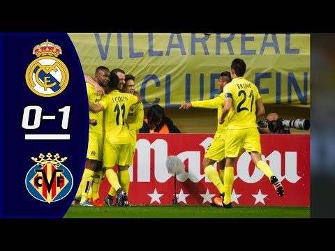 Real Madrid vs Villarreal 0-1 All Goal & Highlights 13/01/2018 HD
